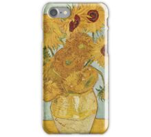 Sunflowers - Van Gogh iPhone Case/Skin