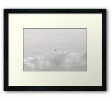 Flying Above All  Framed Print