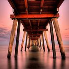 Under The Pier by MarkCooperPhoto