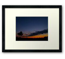 Lone tree Framed Print