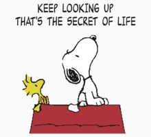 Snoopy Secret of Life by CeaserTee