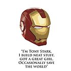 I'm Tony Stark by hdrew13