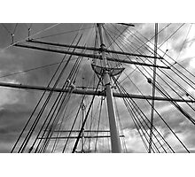 Masts and Rigging Photographic Print