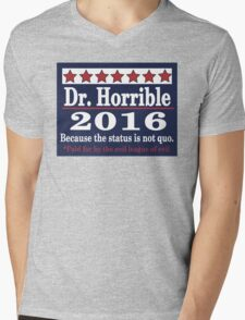 vote Dr. Horrible 2016 Mens V-Neck T-Shirt