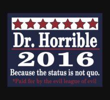 Vote dr. horrible 2016 Kids Tee