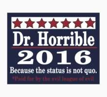 Vote dr. horrible 2016 Baby Tee