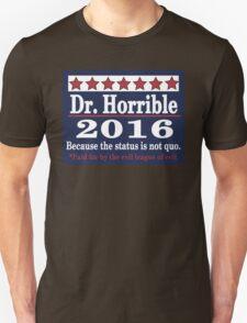 Vote dr. horrible 2016 T-Shirt