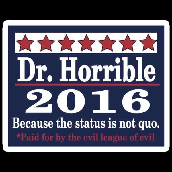 Vote dr. horrible 2016 by Brantoe