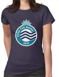 Over The Rhine // America League // PCGD Womens Fitted T-Shirt