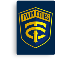 Twin Cities // America League // PCGD Canvas Print
