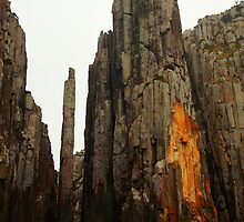 the lanterns. tasman peninsula, tasmania  by tim buckley | bodhiimages