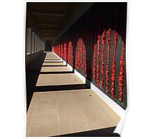 Australian War Memorial, Canberra - in memory........ Poster