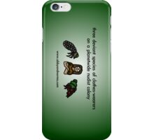 Deviant Clothes-Wearers iPhone Case/Skin