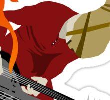 DOOF Warrior VS The World fan art Sticker