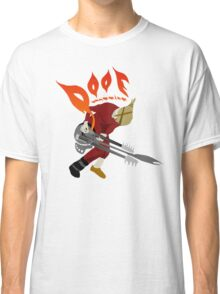 DOOF Warrior VS The World fan art Classic T-Shirt