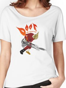 DOOF Warrior VS The World fan art Women's Relaxed Fit T-Shirt