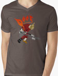 DOOF Warrior VS The World fan art Mens V-Neck T-Shirt