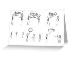 Comic #7 - Derek Greeting Card