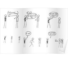 Comic #7 - Derek Poster