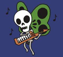 Keytar. Skeleton. Butterfly. by Serenity373737