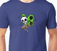 Keytar. Skeleton. Butterfly. Unisex T-Shirt