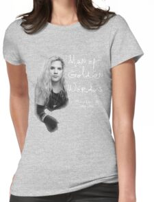Andy Wood/Mother Love Bone Womens Fitted T-Shirt