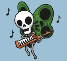 Adventure Time Keytar Skull Butterfly by Serenity373737