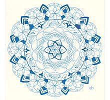 Echos Mandala Photographic Print