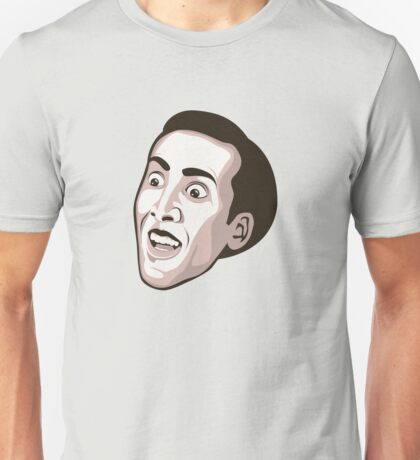 Nicolas Cage - Faces Of Awesome Unisex T-Shirt