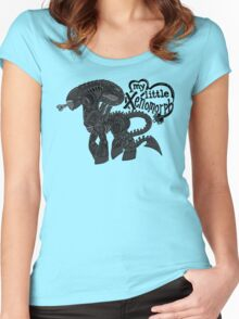My Little Xenomorph Women's Fitted Scoop T-Shirt
