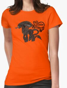 My Little Xenomorph Womens Fitted T-Shirt