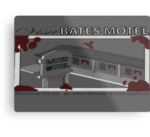 Visit Bates Motel Metal Print
