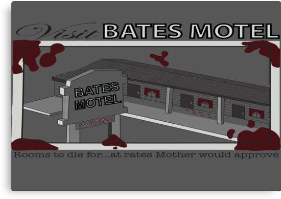 Visit Bates Motel by KidsWithKrayons