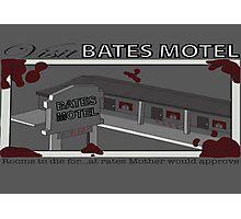 Visit Bates Motel Photographic Print