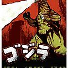 Godzilla Movie Poster by HAZZAH
