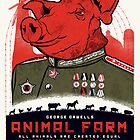 Animal Farm Movie Poster by HAZZAH