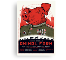 Animal Farm Movie Poster Canvas Print