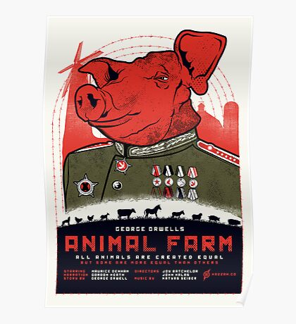 Animal Farm Movie Poster Poster
