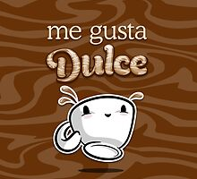 me gusta dulce iPhone case by cafecitocloth