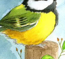 Chickadee Sticker