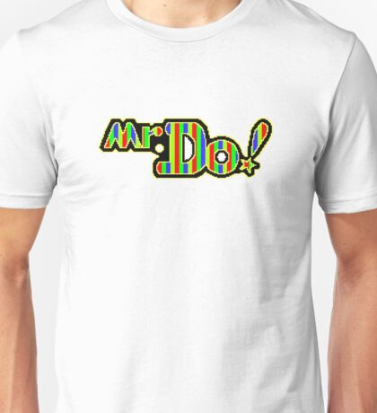 Mr. Do Logo - Full Colour. Perfected Pixellation! Unisex T-Shirt