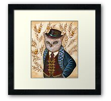 Wind King Framed Print