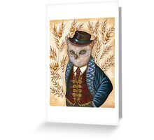 Wind King Greeting Card