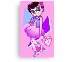 80s Barbie Aesthetic Canvas Print
