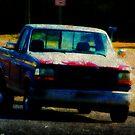 Old Pickup by Ginger  Barritt