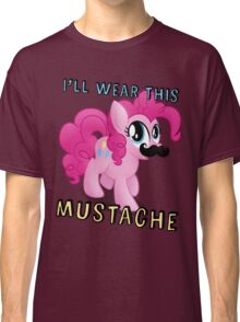 Pinkie Pie Mustache (My Little Pony: Friendship is Magic) Classic T-Shirt