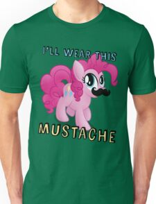 Pinkie Pie Mustache (My Little Pony: Friendship is Magic) Unisex T-Shirt