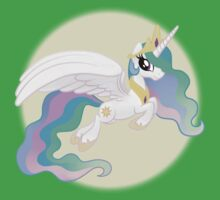 Princess Celestia Tshirt (My Little Pony: Friendship is Magic) Baby Tee