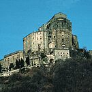 Tele shot of Sacra di san Michele 198403110006 by Fred Mitchell