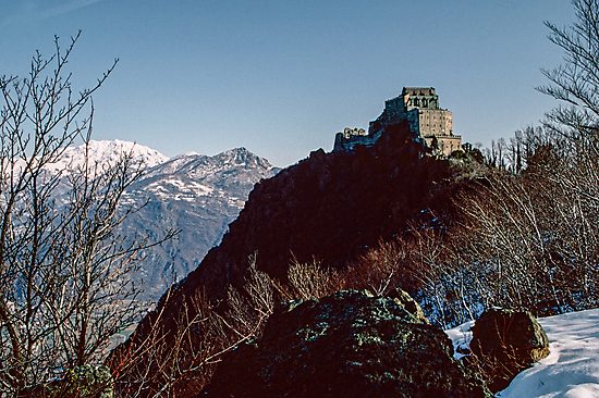 Sacra di san Michele 198403110008 by Fred Mitchell